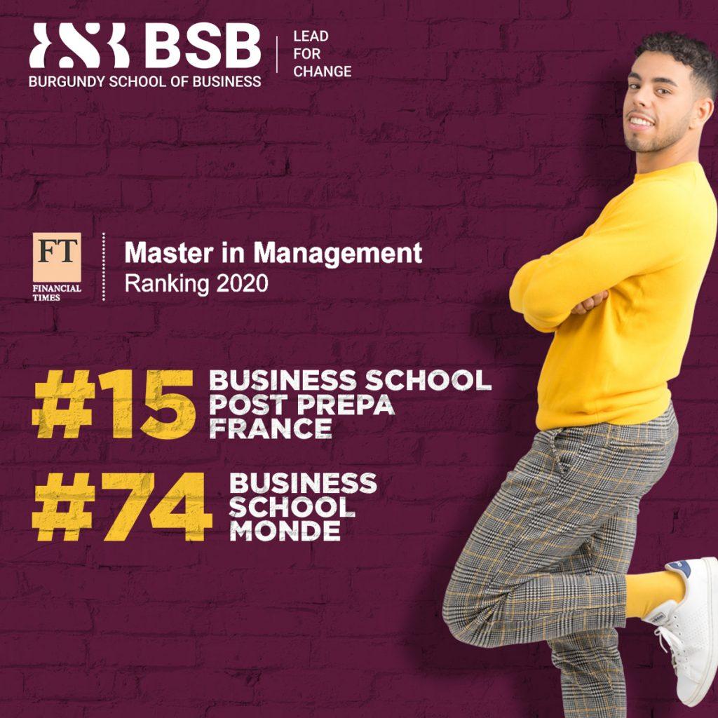 Ranking Financial Times 2020 BSB